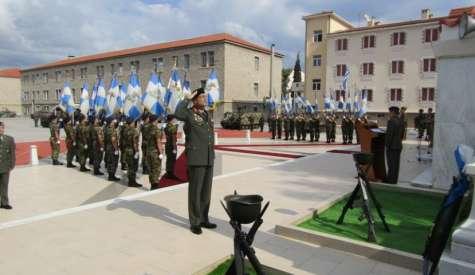 Η Σχολή Πεζικού γιορτάζει τον προστάτη της Άγιο Γεώργιο