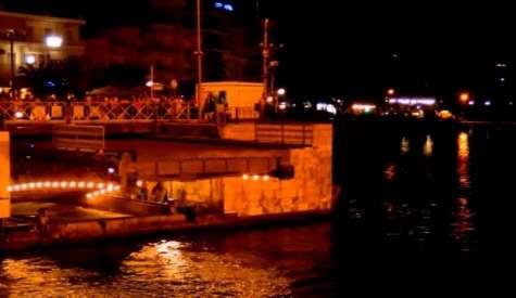 Δεύτερη νύχτα συντήρησης της συρταρωτής γέφυρας