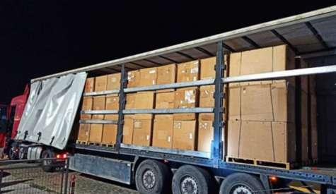 10,6 τόνοι λαθραίου χύμα καπνού εντοπίστηκαν σε φορτηγό