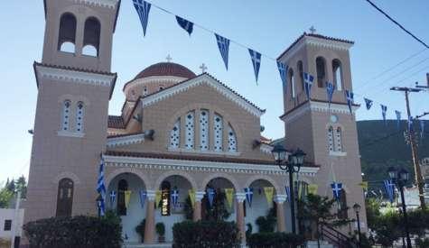 30 χρόνια από τα εγκαίνια του ναού Αγίου Γεωργίου Βατώντα