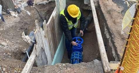 Έτοιμος ο τροφοδοτικός αγωγός ύδρευσης του Νέου Νοσοκομείου